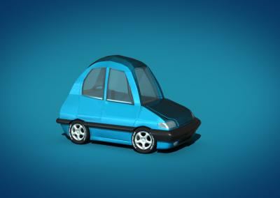 Cartoon Car DES312